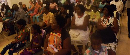 group of trinity ghanaian presbyterian members